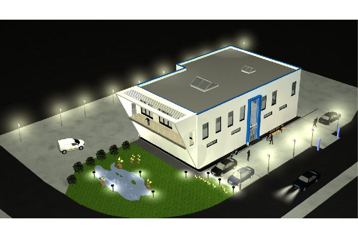BV: 2010-2011 _ Lagerhalle mit Büros